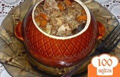 Фото рецепта: «Горшочки с курицей и гречкой»