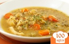 Фото рецепта: «Суп с рисом в мультиварке»