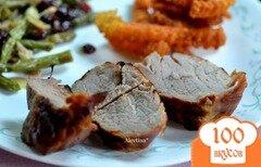Фото рецепта: «Свинина с ромом и кока-колой»