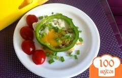 Фото рецепта: «Глазунья на завтрак»