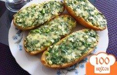 Фото рецепта: «Горячий бутерброд в духовке»