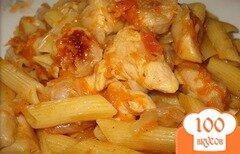 Фото рецепта: «Макароны с куриным филе»