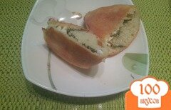 Фото рецепта: «Пирожки с творогом и зеленью»