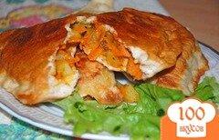 Фото рецепта: «Вегетарианские чебуреки»