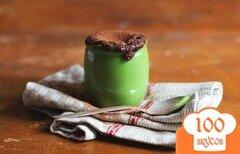 Фото рецепта: «Шоколадное суфле с какао»