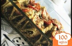 Фото рецепта: «Каннеллони с баклажаном»