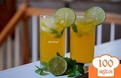 Фото рецепта: «Чай Мохито со льдом»