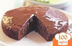 Фото рецепта: «Торт в мультиварке со сгущенкой»