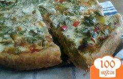 Фото рецепта: «Пирог с кабачками»