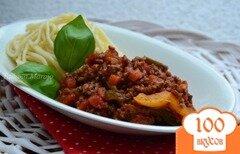 Фото рецепта: «Мясной соус к пасте со сладким перцем»