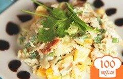 Фото рецепта: «Куриный салат с сельдереем»