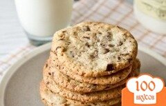 Фото рецепта: «Печенье с шоколадной крошкой»