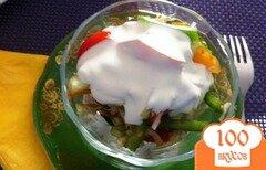 Фото рецепта: «Овощной салат с капустой»