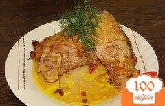 Фото рецепта: «Тушеная курица с овощами»