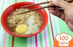 Фото рецепта: «Рамен с яйцом»