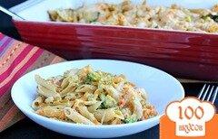 Фото рецепта: «Макароны с курицей в духовке»