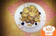 Фото рецепта: «Печенье с ежевичным кремом»