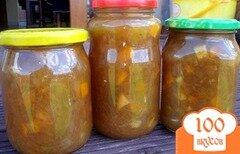 Фото рецепта: «Варенье из ревеня с апельсином»