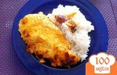 Фото рецепта: «Куриное филе в сырном соусе»