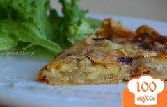 Фото рецепта: «Киш с грушами и сыром»
