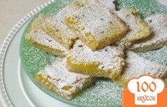 Фото рецепта: «Лимонные пирожные с лавандой»