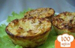 Фото рецепта: «Кексы – суфле из кабачков»