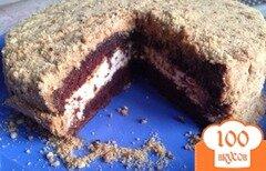 Фото рецепта: «Шоколадный торт с меренгой»