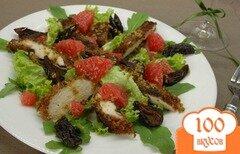 Фото рецепта: «Салат с куриным филе и грейпфрутом»