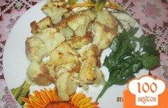 Фото рецепта: «Жареная цветная капуста в кляре»