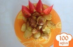 Фото рецепта: «Запеченая курица с картофелем»