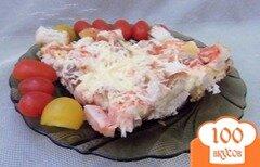 Фото рецепта: «Ленивая а-ля пицца на сковороде»