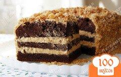 Фото рецепта: «Торт с карамельным кремом»