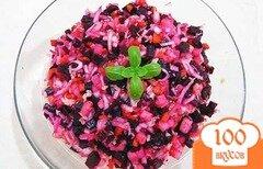 Фото рецепта: «Винегрет со свежей капустой»