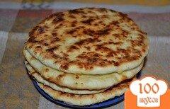 Фото рецепта: «Сырные лепешки»