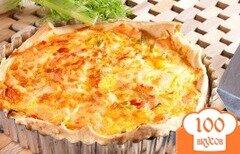 Фото рецепта: «Запеканка с копченым лососем и помидорами»