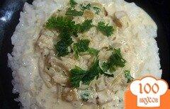 Фото рецепта: «Минтай в сливочном соусе»