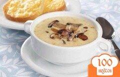 Фото рецепта: «Сырный суп с грибами»