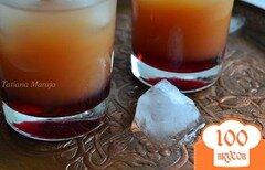 Фото рецепта: «Напиток с малиновой водкой»