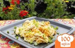 Фото рецепта: «Куриное филе с молодой капустой стир-фрай»