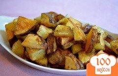 Фото рецепта: «Пряный картофель в духовке»