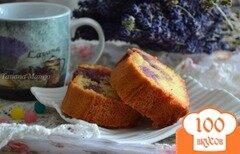 Фото рецепта: «Чернично-лимонный кекс»
