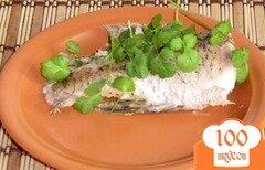 Фото рецепта: «Щука со сметаной в духовке»