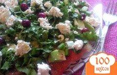 Фото рецепта: «Салат из овощей и авокадо»
