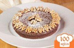 Фото рецепта: «Вкусный шоколадный торт»