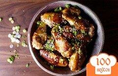 Фото рецепта: «Куриные крылышки с кунжутом»
