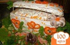 Фото рецепта: «Сундук с морепродуктами»