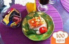 Фото рецепта: «Слабосоленая семга по домашнему»