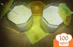 """Фото рецепта: «Коктейль """"Апельсин в белой шубе""""»"""