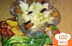 Фото рецепта: «Салат с огурцами и грушей»
