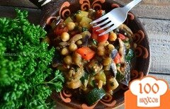Фото рецепта: «Овощное рагу с нутом»